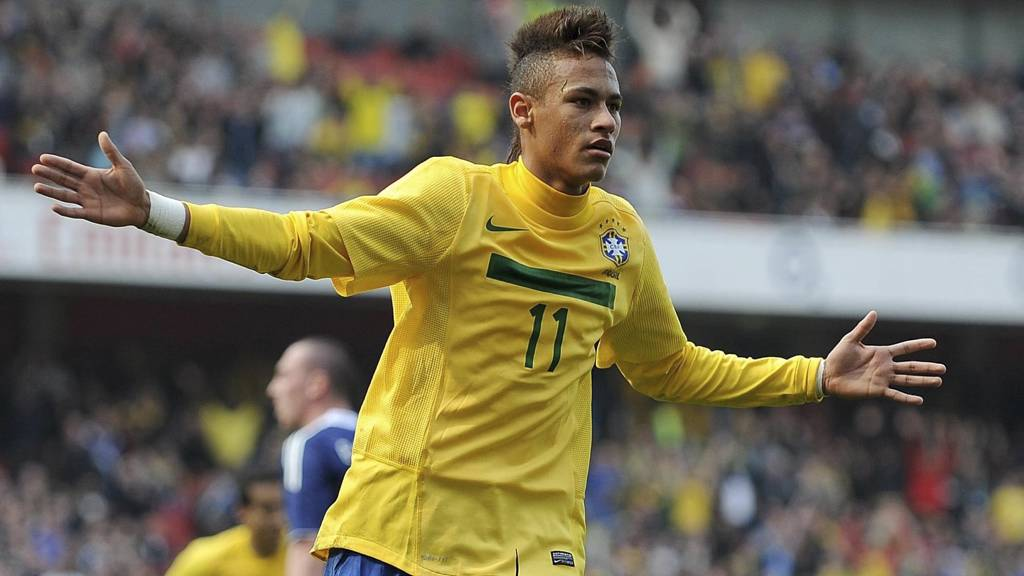 Neymar (Foto: Nigel French/Pa Photos)