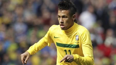 Neymar (Foto: IAN KINGTON/Afp)