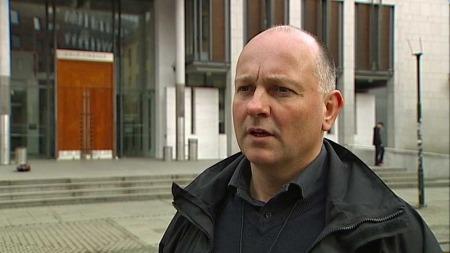 Etterforskningssjef Jon Roger Lund, ved avdeling for organisert kriminalitet i Oslo politidistrikt. (Foto: TV 2)