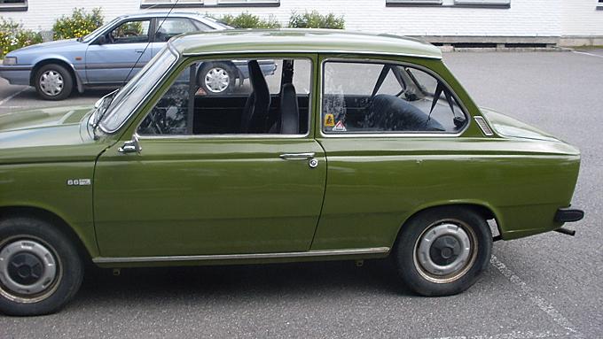 Automatic for the people. Daf 66 hadde sømløs fremdrift takket være sitt variomatic-system. (Foto: Privat)