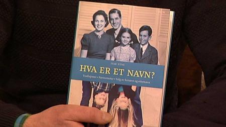 Navneforsker Ivar Utne er aktuell med boken «Hva er et navn?» (Foto: God morgen Norge)