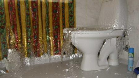 Slik kan det i verste fall gå med badet ditt. (Foto: God morgen Norge)