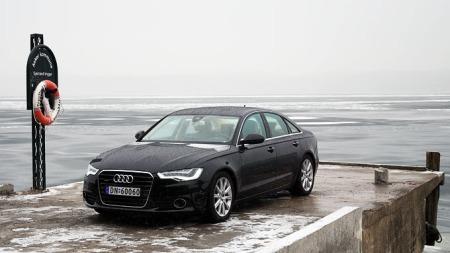 Audi-A6-forfra02 (Foto: Benny Christensenl)