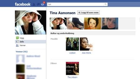 Facebook,-falsk-profil-2   (Foto: Faksimile Facebook.com)