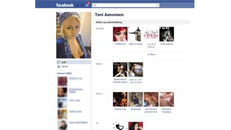 Facebook,-falsk-profil-1 (Foto: Faksimile Facebook.com)