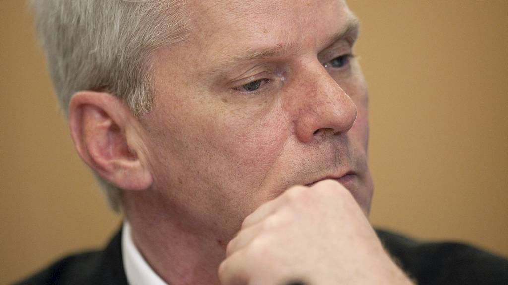 NYE LEKKASJER: Talsmann Kristinn Hrafnsson i WikiLeaks varslet en ny stor lekkasje i løpet av kort tid da han lørdag deltok på SKUP-konferansen for norske journalister i Tønsberg. (Foto: LEON NEAL/Afp)
