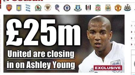 Faksmilie fra dagens The Sun (Foto: www.thesun.co.uk/)