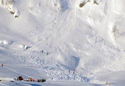 To personer omkom i Eikedalen i Hordaland i vinter. (Foto: Remi Bøe Presttun / Scanpix)