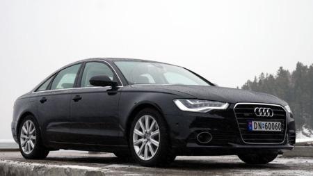 Audi-A6-forfra (Foto: Benny Christensen)