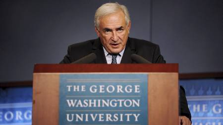 VIL VITNE: Stuepiken som anklager  Strauss-Kahn for overfall og seksuelle overgrep, vil vitne mot ham.  (Foto: Olivier Douliery/Pa Photos)