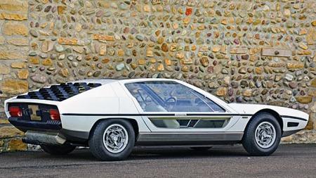 Lamborghini Marzal fra 1967 hadde