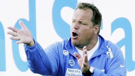 Nybergsund-trener Ola Brenden har lagt inn en protest etter 0-2-tapet mot Alta søndag. Her fra en cupkamp mot Vålerenga i 2007. (Foto: Solum, Stian Lysberg/SCANPIX)