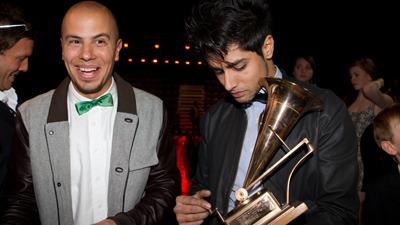 VANT: Karpe Diem ble Årets Spellemann under Spellemannprisen 2010. (Foto: Roger Fosaas 5031, ©Oslo 2011.03.05 Spellemannsprise)