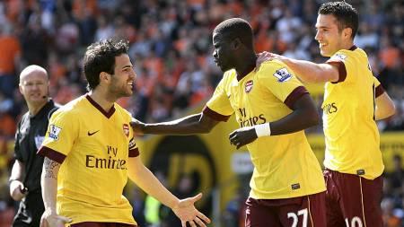 Arsenal (Foto: Barrington Coombs/Pa Photos)