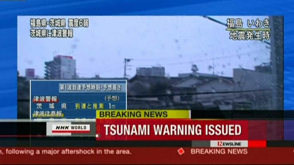 FRYKTER TSUNAMI: Skjelvet målte 7,1 på Richters skala. (Foto: APTN)