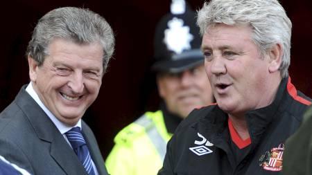 Roy Hodgson og Steve Bruce (Foto: Owen Humphreys/Pa Photos)