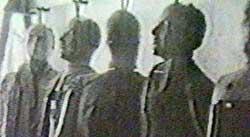 Ifølge tv-kanalen CNN ble disse dukkene brukt i forbindelse   med fallskjermforsøk i New Mexico i 1947. (Foto: Ap)