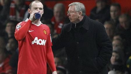 Rooney og ferguson (Foto: DARREN STAPLES/Reuters)