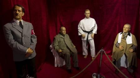 Hitler, Churchill, Putin og Roosevelt. (Foto: MORTEZA NIKOUBAZL/Reuters)
