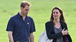 Prins William og Kate Middleton på en polo-kamp i 2009. (Foto: STELLA)