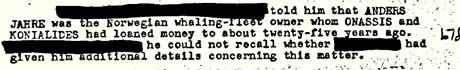 faksimile (Foto: Faksimile fra FBI-dokument som omtaler Anders   Jahre.)