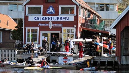Flekkefjord kajakklubb (Foto: Frode Olsen)