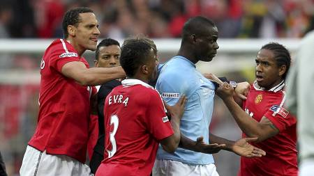 Manchester United, Manchester City. (Foto: Mike Egerton/Pa Photos)