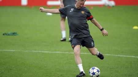 Sir Alex Ferguson (Foto: PATRIK STOLLARZ/Afp)