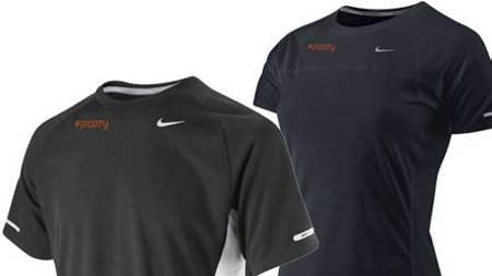 Sporty t-skjorte