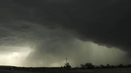 Tordenstorm USA (Foto: James Gibbard/Ap)