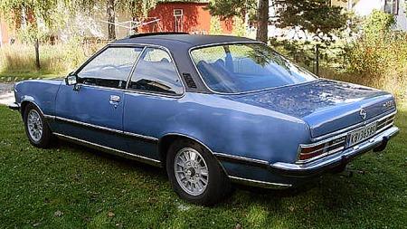 Til forskjell fra den forrige modellens fastback-versjon var ikke Commodore B coupé en ekte hardtop med senbare bakvinduer. Men den så slik ut. Foto: Privat