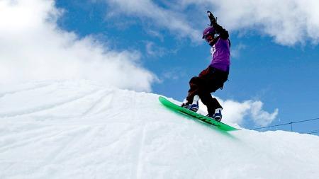 påske snowboard sumo