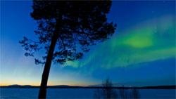 Fra nordlysfilmen. (Foto: Terje Sørgjerd)