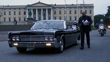 Så sent som ett døgn før kronprinsbryllupet i 2001 ble kjøreruten