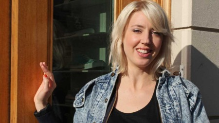 Svenske Veronica Maggio gjør stor suksess i Sverige. Også i Norge er den svenske popstjernen populær.  (Foto: Stine Eriksen)
