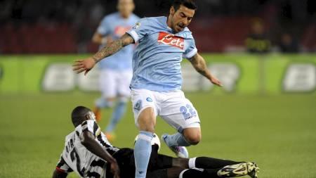 LIVERPOOL-AKTUELL:  Ezequiel Lavezzi kan bli solgt til Liverpool i sommer. (Foto: SCANPIX/Ap)
