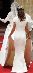 POPULÆR BAKENDE: Pippa Middletons bakende fikk   egen fanside på Facebook etter det kongelige bryllupet i 2011. (Foto:   AFP PHOTO / CARL DE SOUZA)