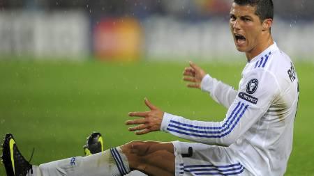 Cristiano Ronaldo (Foto: LLUIS GENE/Afp)