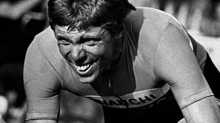 Knut Knudsen under Giro d'Italia i 1979. (Foto: Berglund, Erik/Aftenposten)