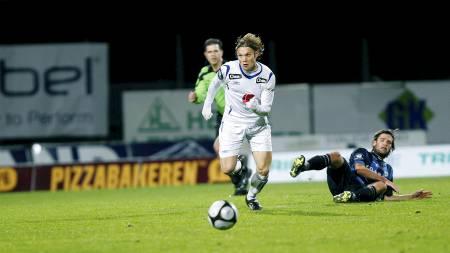 Thomas Sørum og Haugesund scorer få mål den siste halvtimen.   (Foto: Ness, Jan Kåre/Scanpix)