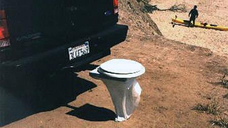 Alle toalettseter med standard-fester kan brukes på Bumper Dumper. Dermed er manglende sanitærforhold ikke noen unnskyldning for å holde seg unna villmarken.
