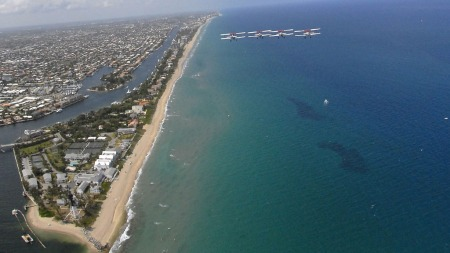ÅSTEDET: Pompano Beach i Florida. (Foto: STELLA)