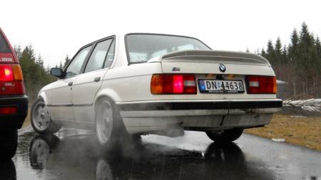 Erik har store planer for denne bilen: motor og senk, og atter senk. (Foto: Privat)