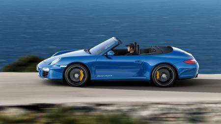 Porsche-911 Carrera 4 GTS er trolig den siste 997 modellen. Her en cabriolet.