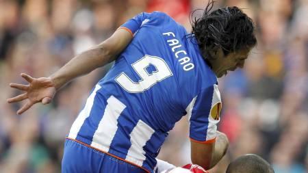 Radamel Falcao - Porto (Foto: Armando Franca/Ap)