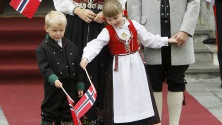 Sverre Magnus 6 år (Foto: Scanpix/)