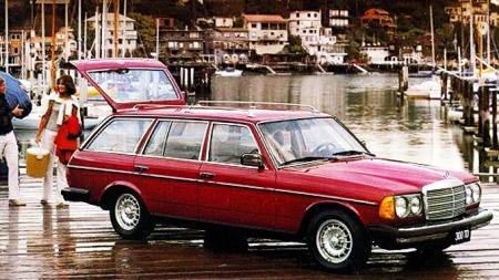 Den første stasjonsvogna fra Mercedes kom så sent som i 1978