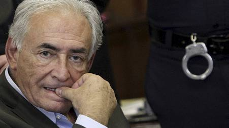 DNA-SPOR: New York-politiet skal ha funnet rester av Dominique Strauss-Kahns sæd på klærne til stuepiken som angivelig skal ha blitt utsatt for overgrep. (Foto: RICHARD DREW/Afp)