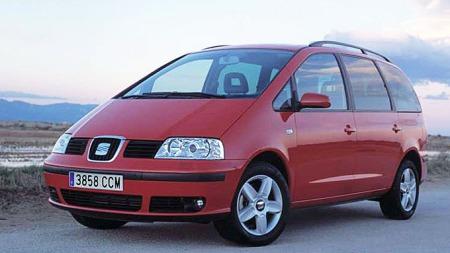 ... og slik ser Seat Alhambra egentlig ut. Plutselig veldig ordinær i forhold til Audi-Alhambraen, synes ikke du også?
