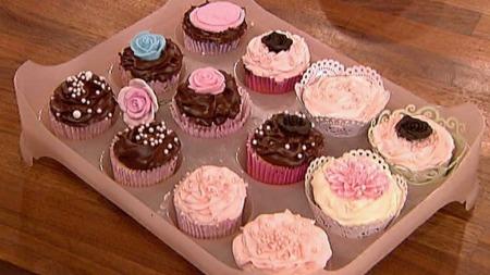 Noen av Manuelas cupcakes. (Foto: God morgen Norge)